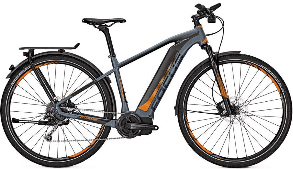 Le Focus Jarifa Street : un vélo à assistance électrique urbain habillé sport