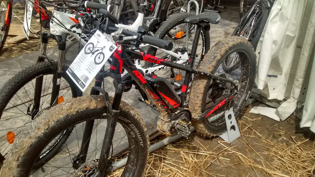KTM Macina Freeze 261, stand AC-Emotion, lors du Paris Bike Festival 2017