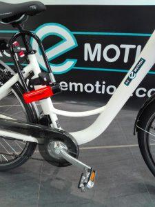 antivol Kryptonite sur vélo électrique AC-Emotion e-Balade : 1099 €