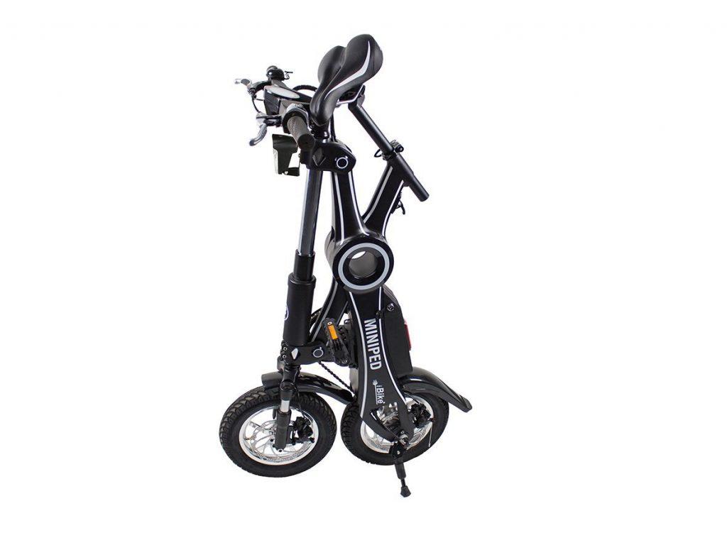 L'iBike : un mini-vélo électrique facile à plier