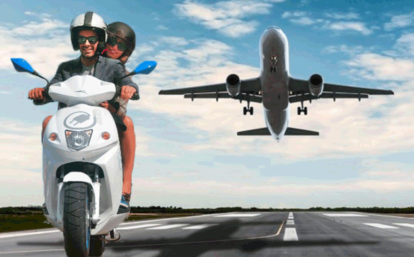 Du mardi 6 au samedi 10 juin, essayez un scooter électrique Govecs chez AC-Emotion et gagnez une invitation au Salon du Bourget