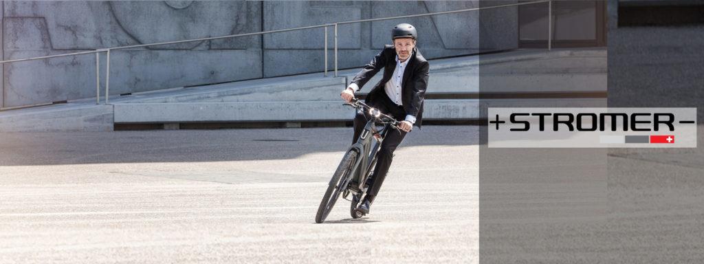 Les vélos électriques Stromer chez AC-Emotion Paris