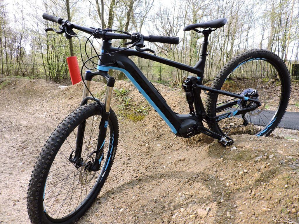 vélo électrique Focus Jam2 à moteur Shimano Steps E-8000