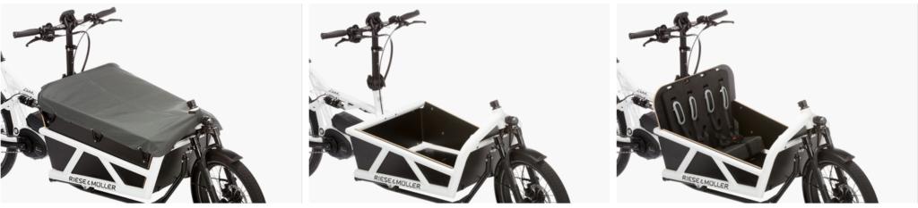 Le vélo électrique Riese & Müller Load Touring est disponible chez AC-
