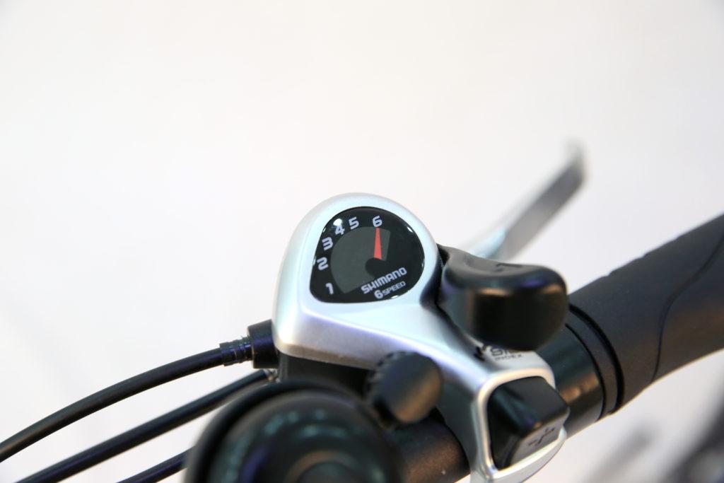 BiClou Pliant 16'' _ commande de dérailleur Shimano 6 vitesses