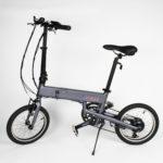 """Vélo électrique BiClou Pliant 16"""" : ultraléger et confortable en ville"""